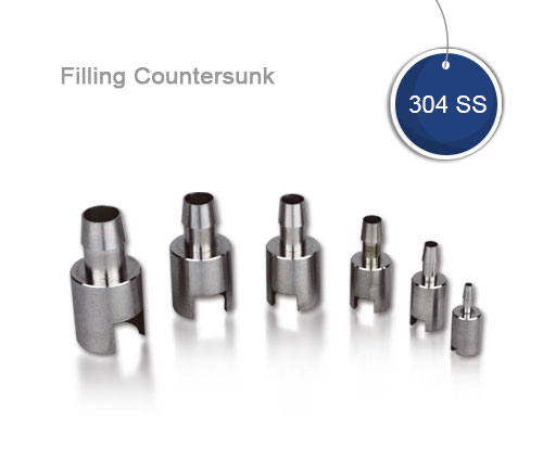 Filling countersunk